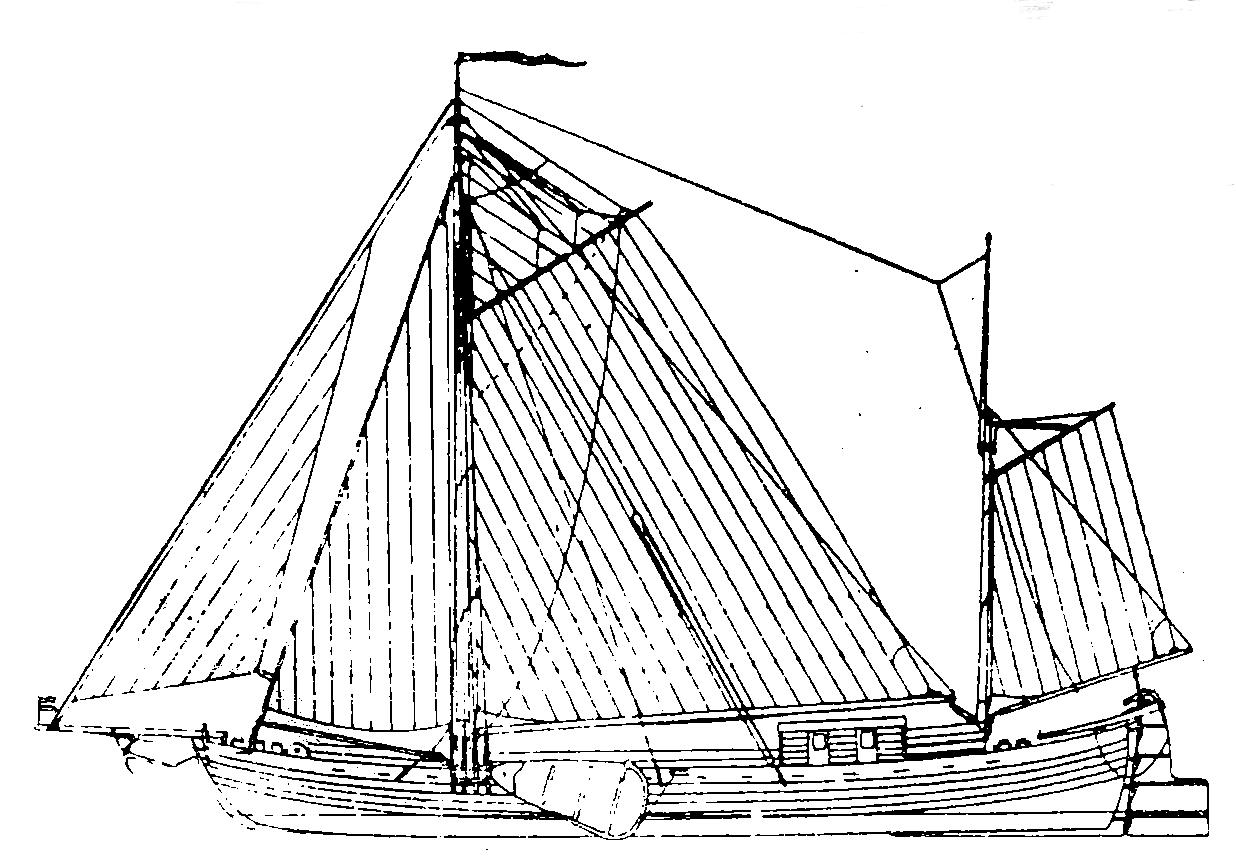 Flachbodenschiff